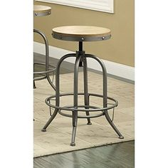Cheap Coaster Home Furnishings Contemporary Adjustable Bar Stool Brown Set of 2 https://kitchenbarstools.life/cheap-coaster-home-furnishings-contemporary-adjustable-bar-stool-brown-set-of-2/