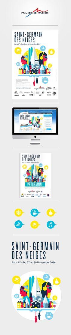 SAINT GERMAIN DES NEIGES - 2014 on Behance