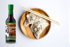 Dumplings are a complete meal in one bite! Pair with our Panda Brand Premium Soy Sauce! 😍