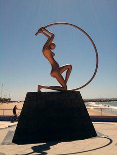 #Fortaleza - estatua praia iracema, Brasil