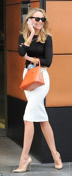 Voguish Outfit Ideas Show You How To Wear A Pencil Skirt