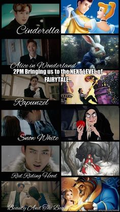 Take me home Oppa!.. #2pm #MyHouse | But Jun.K was wearing Prince Eric pants!
