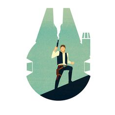 Han Solo by Mathew Jepiuh
