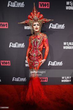 Sasha Velour attends 'RuPaul's Drag Race' season 9 premiere party & meet The Queens Event at PlayStation Theater on March 7, 2017 in New York City.