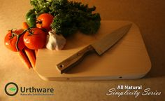 Medium-All Natural 'Simplicity' Series Maple cutting by Urthware