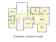 The Carlisle Model by Castle Rock Builders