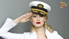 Anna Fialová coby Christina Aguilera Nova, Christina Aguilera, Captain Hat, Fashion, Moda, Fashion Styles, Fashion Illustrations