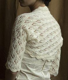 Ravelry: Matrimonio bolero pattern hand made by fasOLA
