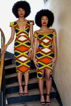 """Robes """"Fatou"""" et Maelys"""" de Natacha Baco : On fond toutes pour le wax ! - Journal des Femmes"""