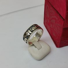 Vintage Ringe - Ring Silber 925 mit Elefanten Elefantenring  SR707 - ein Designerstück von Atelier-Regina bei DaWanda