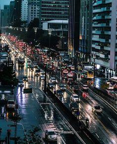 Avenida Paulista by @katrianne  #saopaulocity #EuVivoSP #paulista