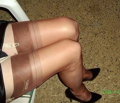 Tan nylons