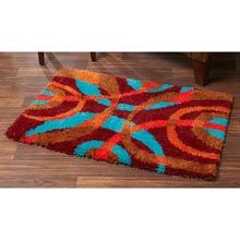 Abstract Circles latch hook rug kit $59.99