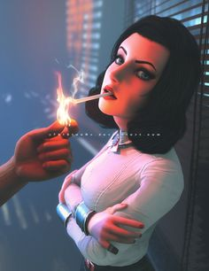 Elizabeth - Burial at Sea by on DeviantArt Bioshock Game, Bioshock Series, Bioshock Tattoo, Bioshock Infinite Elizabeth, Elizabeth Comstock, Kaito, Skyrim Game, Elisabeth, Celebrity Travel