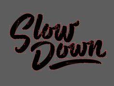 Slow Down Bézier Curves