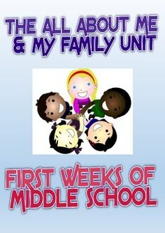 Perfect for the first weeks of middle school, this unit will help you to build better relationships with your students and increase the home-school link. Also suitable for upper elementary.