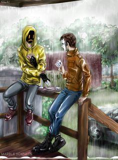 Masky & Hoody by Ashiva-K-I.deviantart.com on @deviantART
