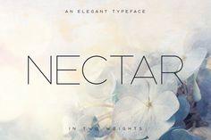 Nectar Typeface by Tugcu Design Co. on @creativemarket