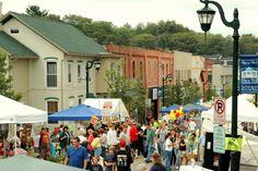 VillageFest in Slippery Rock this weekend!