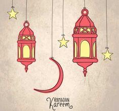 Sketchy arabic lanterns for ramadan kare. Ramadan Crafts, Ramadan Decorations, Muslim Holidays, Ramadan Lantern, Eid Cards, Doodles, Ramadan Mubarak, Arabic Art, Illustration