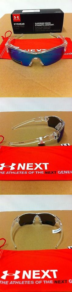 Sunglasses 131411: Under Armour Menace Youth Crystal Clear Blue Multi Sunglasses Make Offers -> BUY IT NOW ONLY: $65 on eBay!