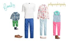 Family Portrait Outfitting | H&M