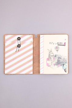 Getting excited! 2 days until I leave! Just picked up a super cute travel journal to write about my trip & keep together the bits, pieces and memories I collect while i'm away