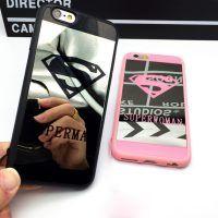 Silikónový zrkadlový obal Superman a Superwoman pre iPhone 7 Iphone 5s, 6s Plus, Superman, Phone Cases, Phone Case