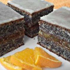 Pomarančovo makový koláčik