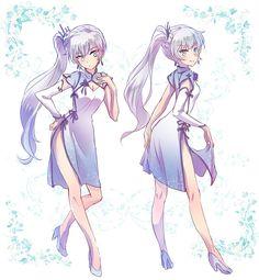 Weiss Schnee Chinese Dress