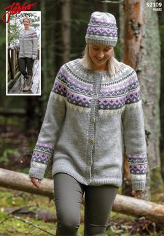 Lovely cardigan in our Raggi. Lace Knitting, Knitting Patterns, Knit Crochet, Most Beautiful Pictures, Vest, Textiles, Sweaters, Cardigans, Fashion