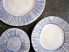 new porcelain plates…Paula Greif