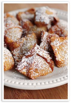 Peach Wontons. These would be amazing dipped in a caramel sauce.