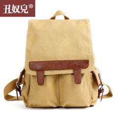 Chounuer Shoulder Bags Canvas Cotton Korean Handbags Travel Backpack Ipad Tablet PC Travelling Bags 12836830026