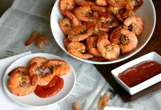 Old Bay Peel N Eat Shrimp that are naturally low carb, grain free, dairy free and delicious!