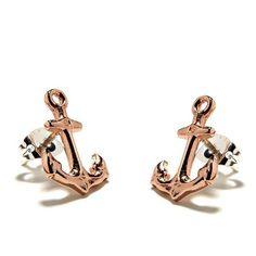 Anchor Studs Earrings
