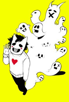 These ectoplasmic beings are my friends