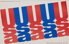 Elaine Lustig Cohen, XXXII International Biennial Exhibition of Art, Venice, 1964. Catalog cover published by the Jewish Museum, New York. (Image courtesy of LACMA)