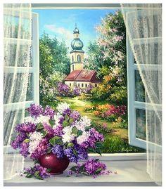 Mini Canvas, Portal, Anemone, Animation, House Styles, Wallpaper, Spring, Artist, Euro