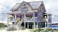 Bayside Cottage - Sullivan Design Company | Southern Living House Plans