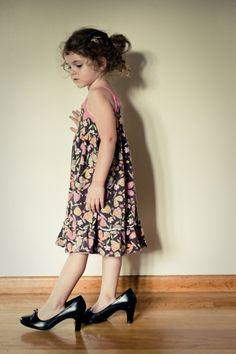 walking in mommy's heels