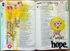 Shimmerz Paints: Art Journalling in unexpected places by Lydell Quinn; Sept 2014