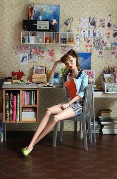 Poppy's Art Studio | Flickr - Photo Sharing!