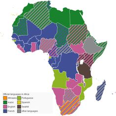 Official Languages in Africa