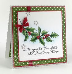PaperLilies and Ink: Impression Obsession Homemade Christmas Cards, Merry Christmas Card, Xmas Cards, Homemade Cards, Handmade Christmas, Christmas Crafts, Christmas Stuff, Christmas 2019, Christmas Ideas