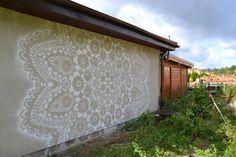 BistroBarBlog (BBB): Une artiste polonaise qui fait dans la dentelle