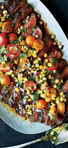 The spicy and sweet powerhouse seasoning  on this quick and easy Dry-Rubbed Flank Steak blend packs layers of flavor onto grilled flank steak and will be ready in time for weeknight dinner.