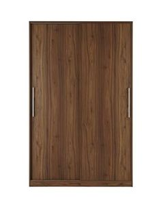 New Prague Sliding 2-door Wardrobe in an improved wood-effect finish - with optional home assembly service* With an updated wood-effect finish that provides greater clarity and grain detail, this sliding door wardrobe takes the Prague collection to even more stylish heights.For a traditional look, try the oak-effect or walnut-effect finishes, or get contemporary with the white ash-effect or black ash-effect.The wardrobe is fitted with a pair of space-saving sliding doors that glide…