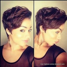 Short Hairstyles for Black Women 2014  2015  Side hairstyles