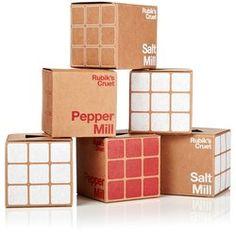 Rubiks Salt Mill - Rubiks Cruet Rubiks Salt Mill Rubik Cube Ceramic Grinding Mill
